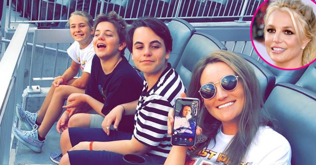 Britney Spears' Sons Preston, Jayden at Braves Game With ...