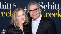 Catherine O'Hara and Eugene Levy attend the Schitt's Creek Season 4 Premiere Emmy Nominations 2019 Snubs and Surprises