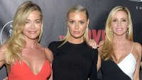 Denise Richards Slams Camille Grammer for Bringing Up Dorit Kemsley's Finances on 'RHOBH'