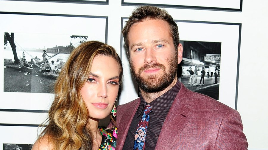 Elizabeth Chambers and Armie Hammer Toe Sucking