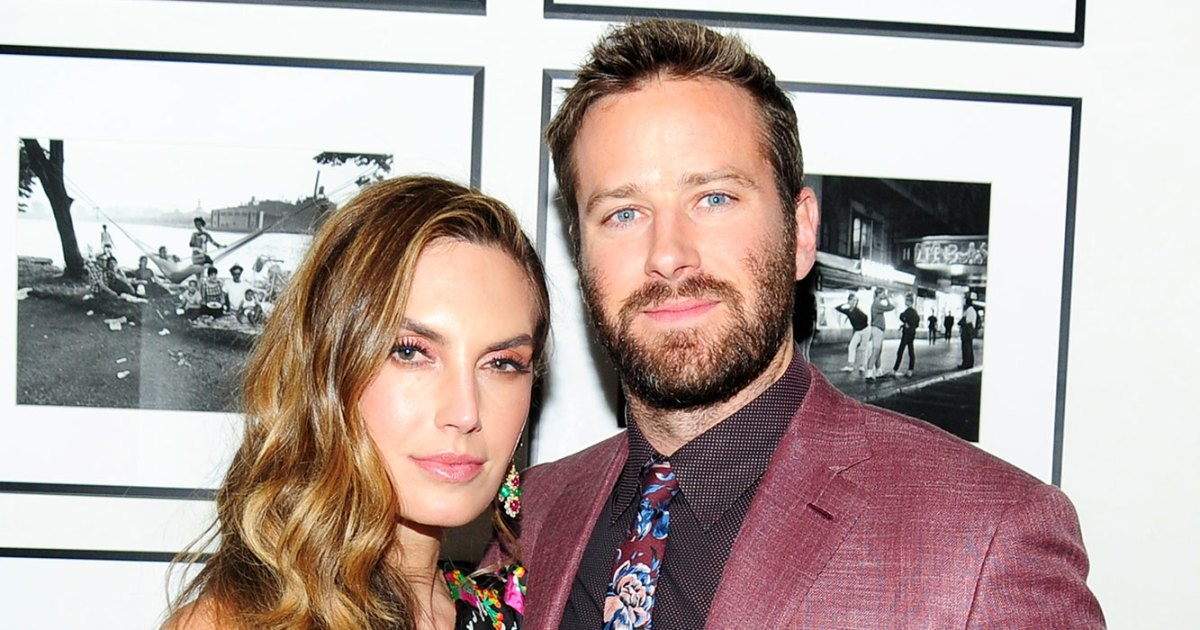 Armie Hammer's Wife Responds to Backlash Over Toe Video of Son