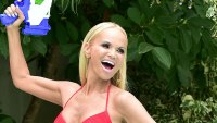 Kristin Chenoweth Red Bikini X-Shot Water Gun