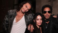 Lenny Kravitz Opens Up About His Relationship With His Ex-Wife Lisa Bonet's Husband Jason Momoa