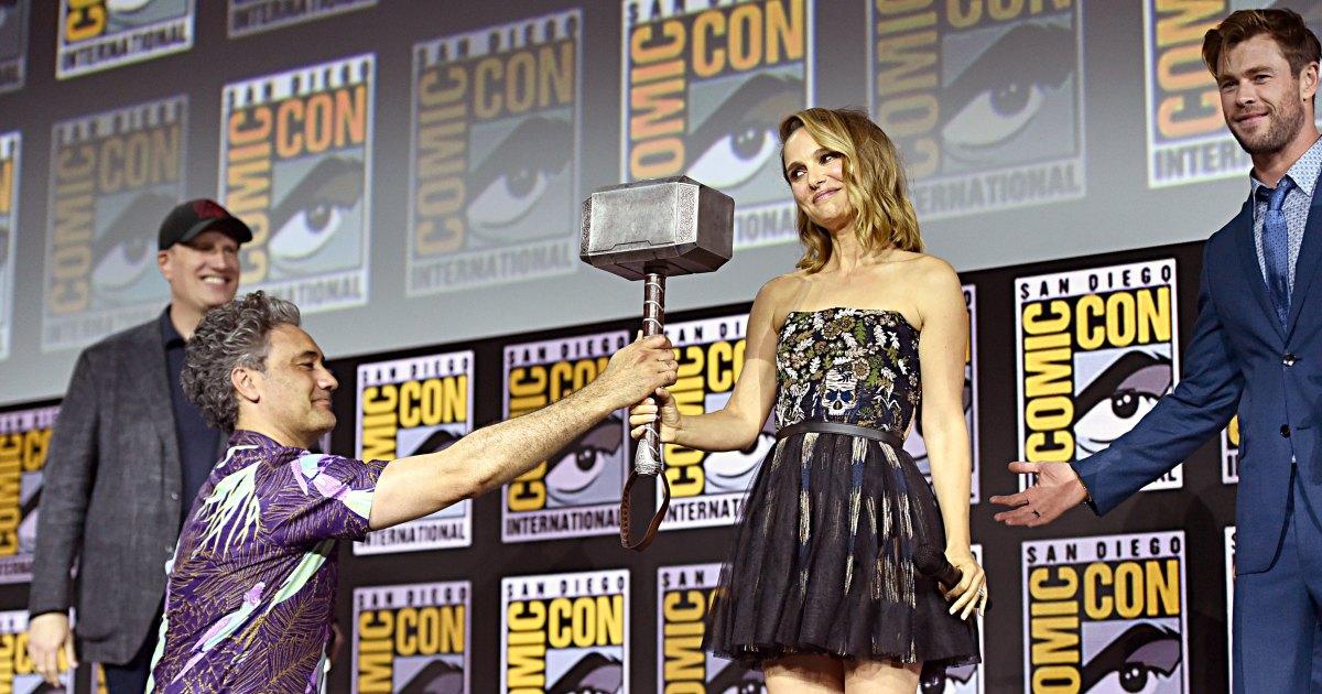 Marvel Unveils Phase 4 Plans: Natalie Portman, Mahershala Ali, Angelina Jolie and More Celebs Slated for Major Roles