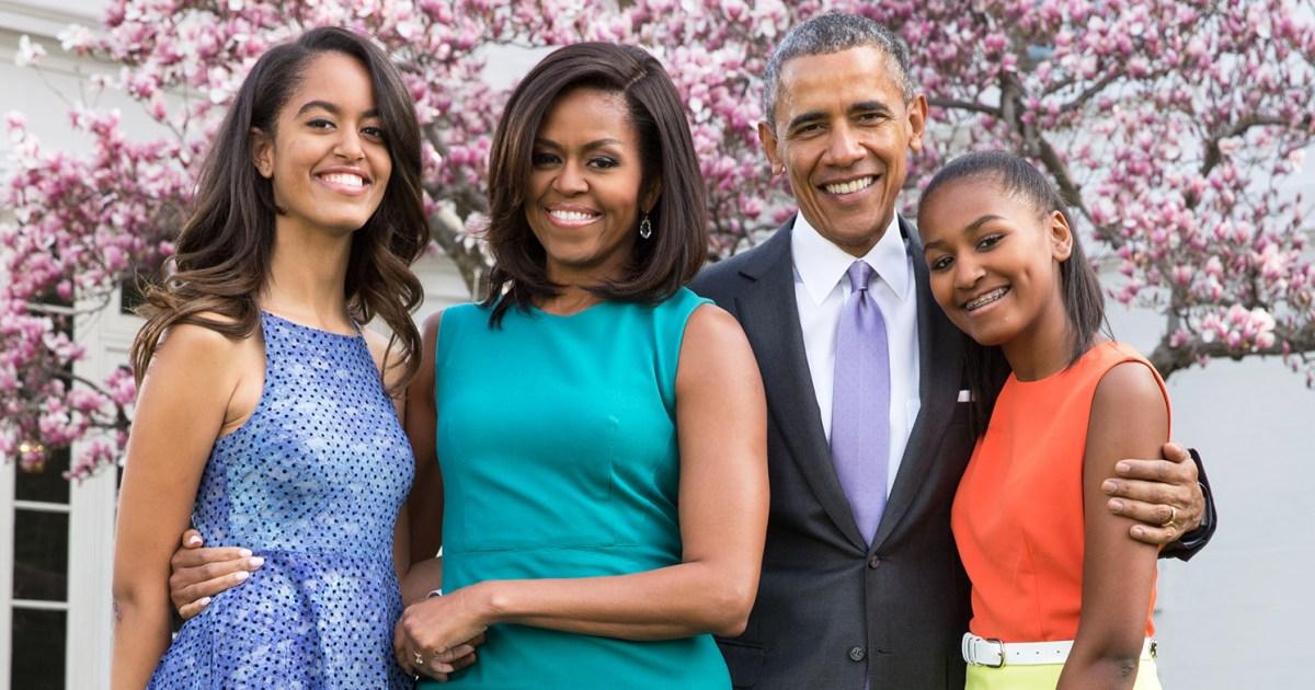 Michelle Obama: Malia and Sasha Have 'Different' Personalities