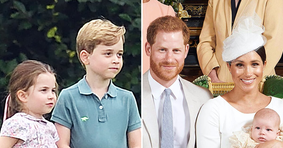 Prince George, Princes Charlotte Dote on Baby Archie