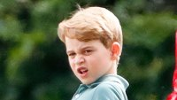 Prince George's Grumpiest Faces at Royal Charity Polo Day 2019