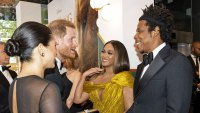 Prince Harry and Meghan, Beyoncé, Jay-Z Lion King Premiere