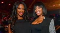 Real Housewives of Atlanta Kenya Moore and Porsha Williams