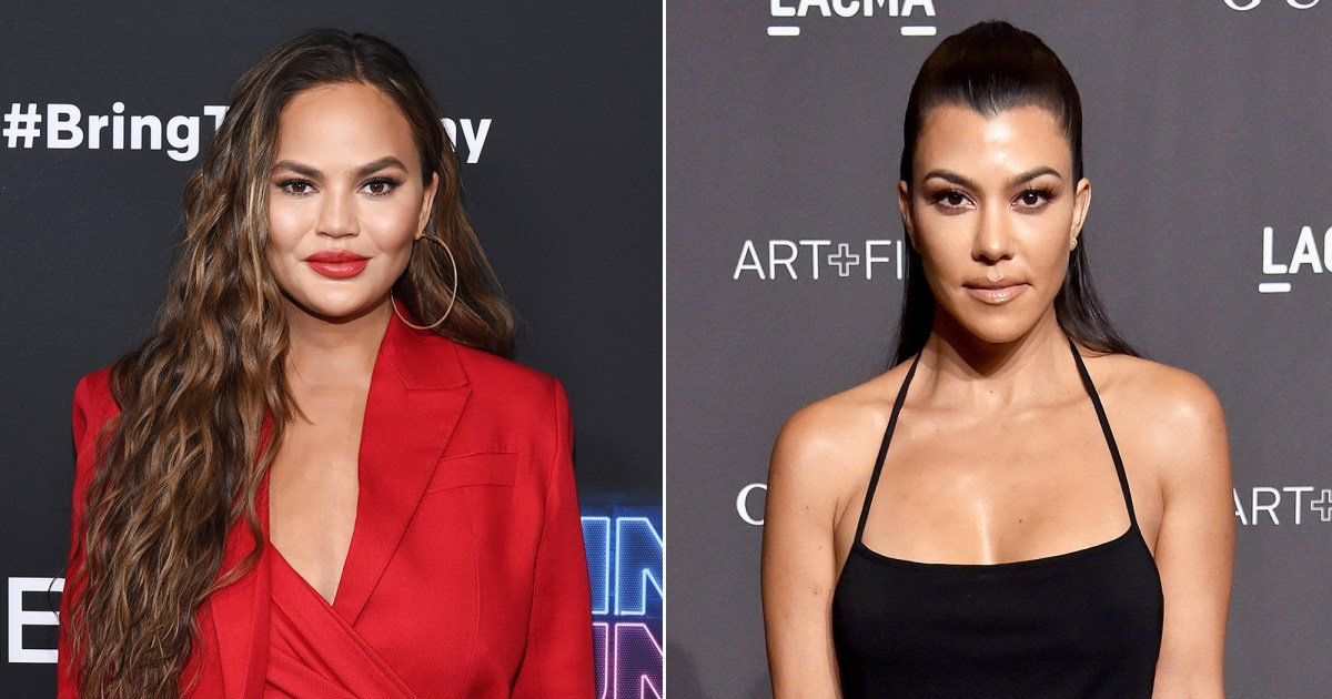 Chrissy Teigen, Kourtney Kardashian and More Stars Who Can Be Small Spenders