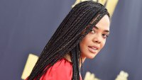 Tessa Thompson Braids
