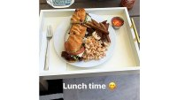 Tristan Thompson Shares Lunch Time Photo No Khloe Kardashian Feast