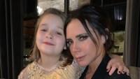 Victoria Beckham Daughter Mimics Mom
