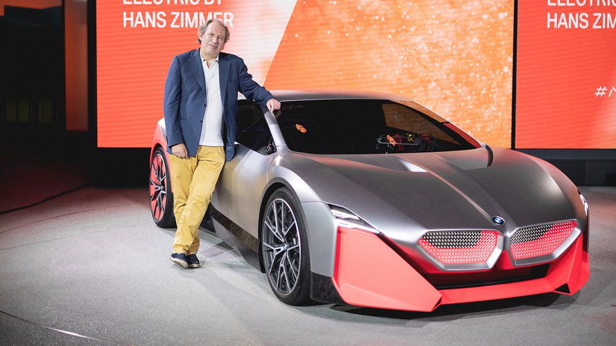 BMW Vision M Next Owners Can Experience Hans Zimmer's Music While Driving