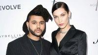 Bella Hadid Runs After Ex Boyfriend The Weeknd Shows Up At Same LA Nightclub