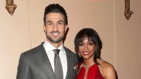 Bryan Abasolo and Rachel Lindsay Red Dress Bachelor Party
