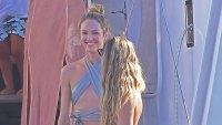 Candace Swanepoel and Doutzen Kroes Wear Bikinis in Ibiza
