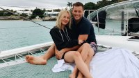 Cassie Randolph and Colton Underwood On Boat Six Toes