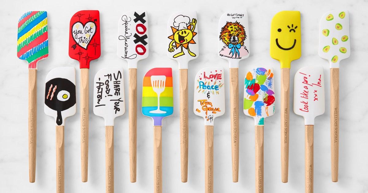 Lisa Vanderpump, Kristen Bell and More Stars Design Spatulas, Mugs for a Good Cause