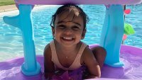 Dream Kardashian in a Swimming Pool Instagram Photo