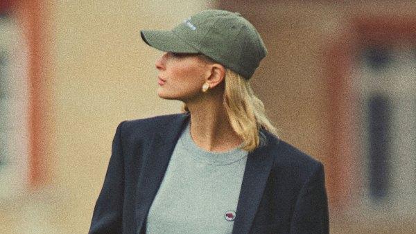 Hailey Baldwin Princess Diana Vogue