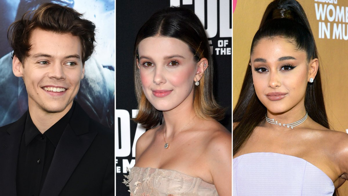 Harry Styles and Millie Bobby Brown Dance at Ariana Grande Concert