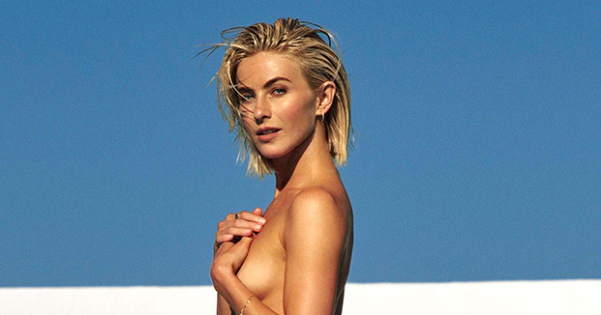 Topless julianne hough Julianne Hough