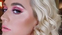 Katy Perry Euphoria Makeup Instagram August 21, 2019