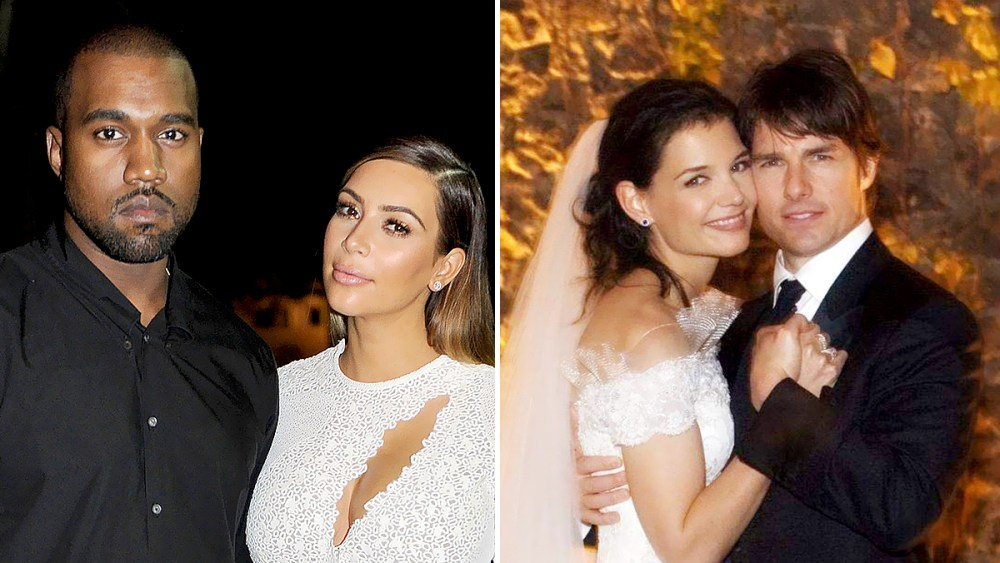 Kimye! TomKat! Most Extravagant Celebrity Weddings Ever thumbnail