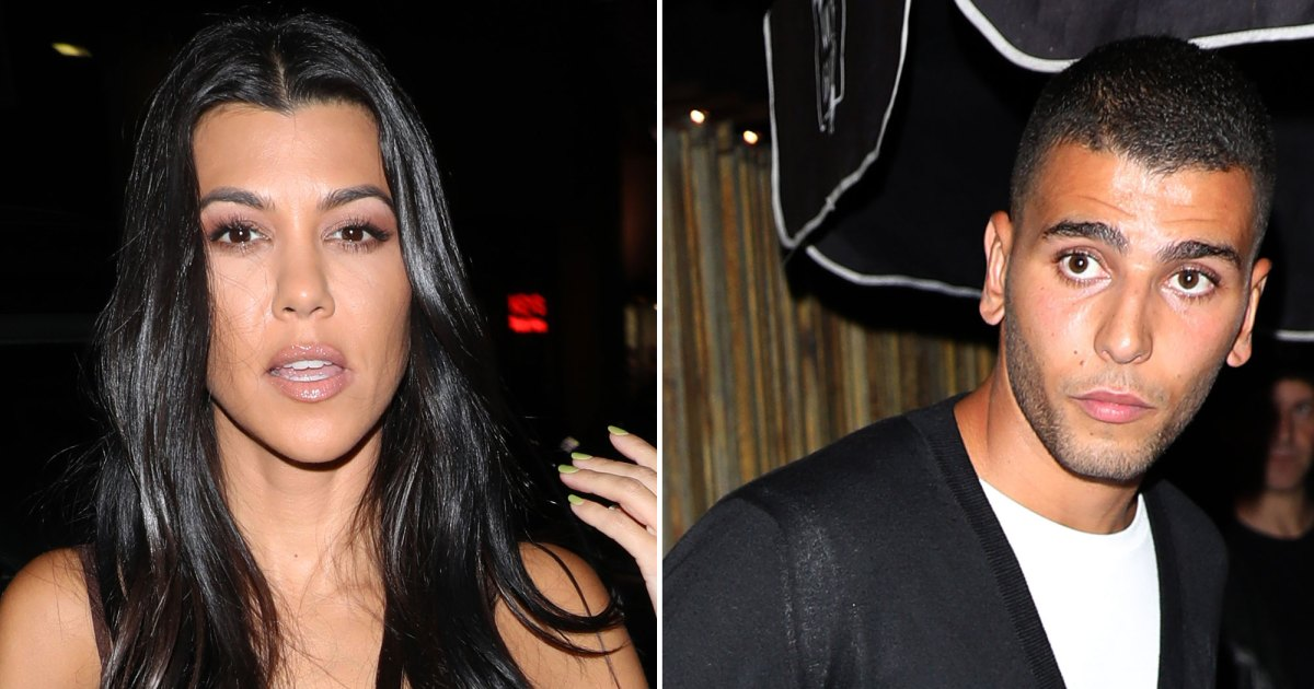Kourtney Kardashian, Kendall Jenner and Kylie Jenner Run Into Exes Younes Bendjima, Ben Simmons and Luka Sabbat
