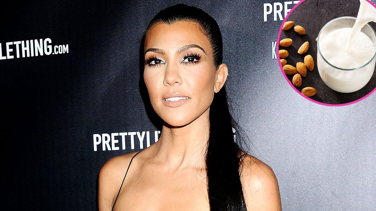 Kourtney Kardashian's Go-To Almond Milk Recipe Includes This Extra Touch