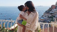Kylie Jenner Daughter Stormi Sweetest Moments Italian Vacation 22nd Birthday