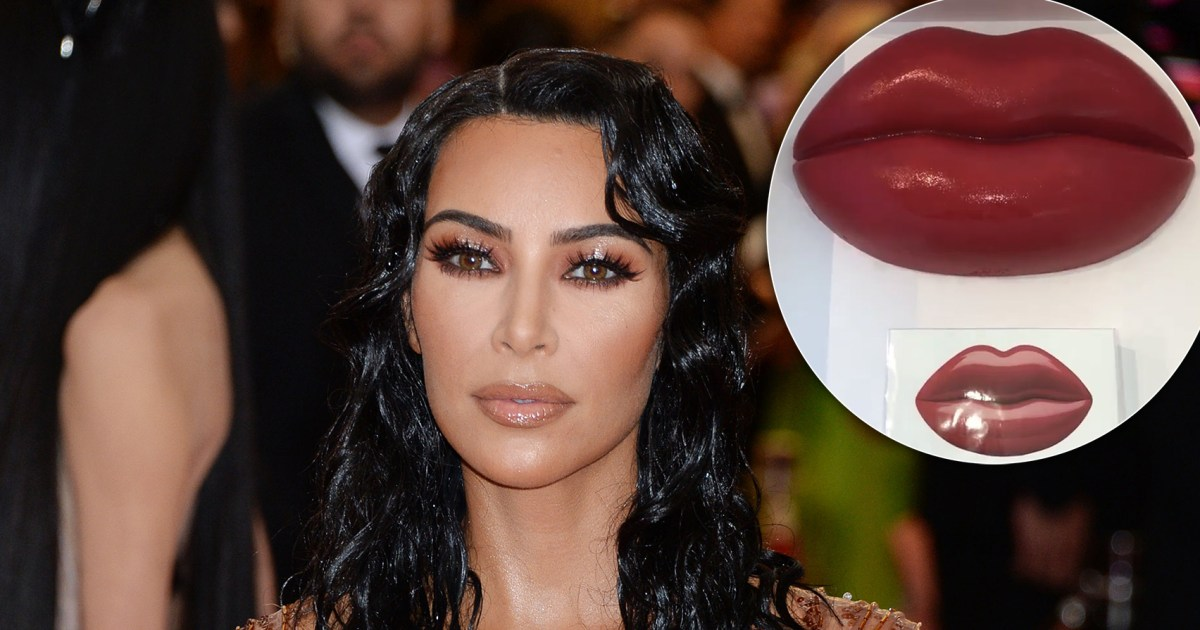 Stars Are Going Crazy for Kim Kardashian's Edible Lips to Celebrate Her Perfume Launch