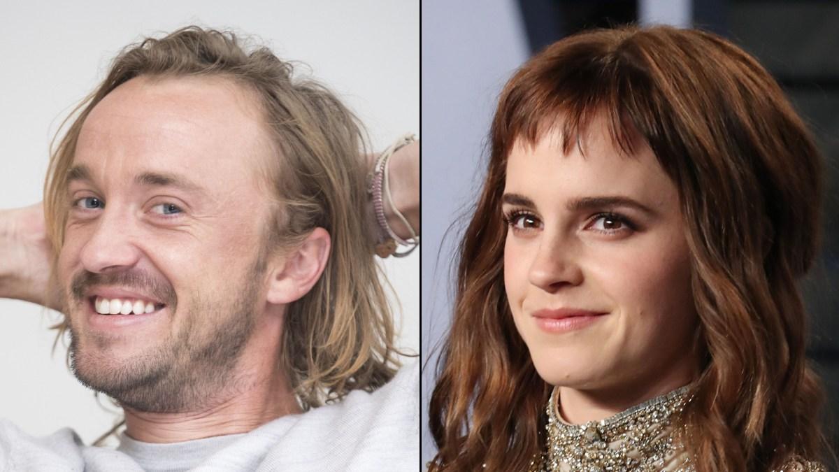 Tom Felton and Emma Watson Reunite Again for a Pajama-Clad Guitar Lesson