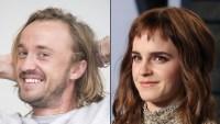 Tom Felton and Emma Watson Reunite Again