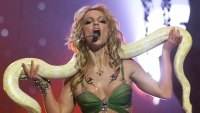 Wildest VMA Costumes - Britney Spears, 2001