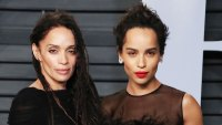 Zoe Kravitz and Lisa Bonet 2018 Oscars March 4, 2018