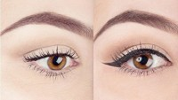 before and after liner