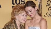 Billie Lourd With Debbie Reynolds