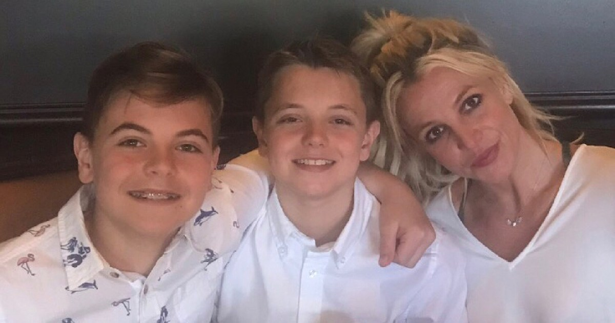 Britney Spears Wishes Sons Happy Birthday Amid Family Drama