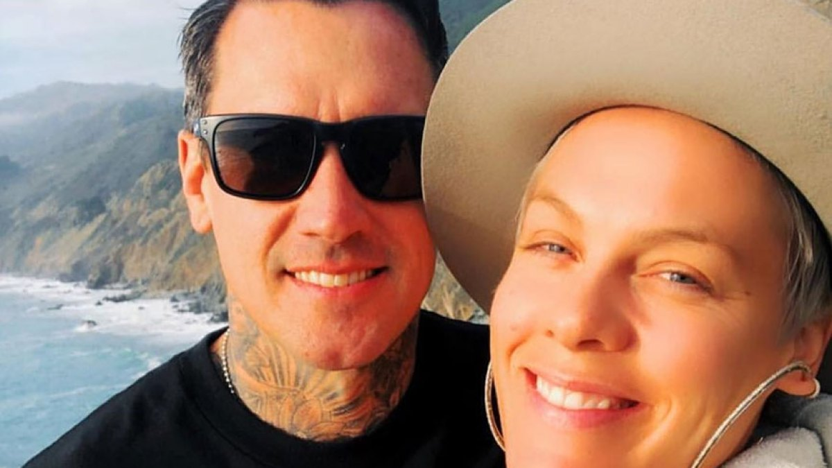 Carey Hart Pens Perfect Birthday Tribute to 'Beautiful' Wife Pink: 'The Person You Have Grown Into Is Inspiring'