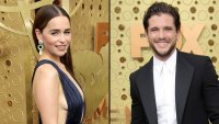 Emilia Clarke and Kit Harington Game of Thrones Slay Red Carpet Emmys 2019