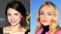 Emmys seating gallery Margaret Qualley Sophie Turner