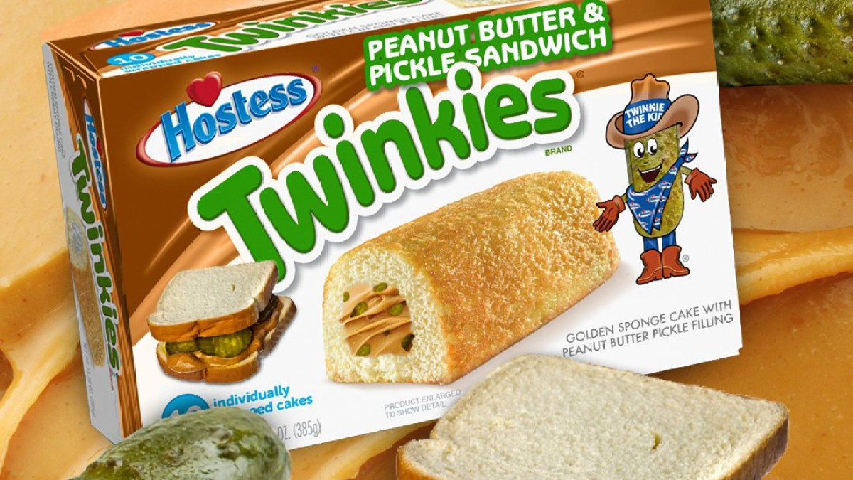 Hostess Debuts Peanut Butter Pickle Twinkies, But Social Media Isn't Here for It: 'That's Disgusting'