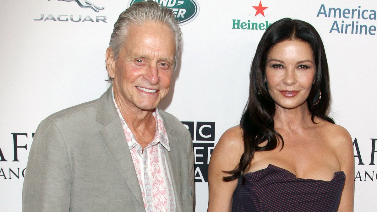 Michael Douglas Says Wife Catherine Zeta-Jones Still Gives Him Butterflies After Almost 2 Decades of Marriage