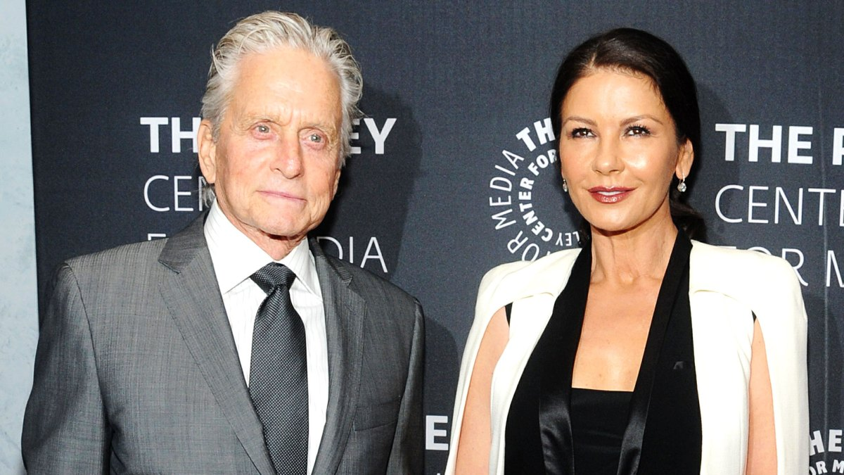 Michael Douglas Shares His Secret to Successful Marriage to 'Extraordinary' Catherine Zeta-Jones