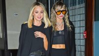 Miley Cyrus and Kaitlynn Carter Were Spotted 'Making Out' at Party in NYC