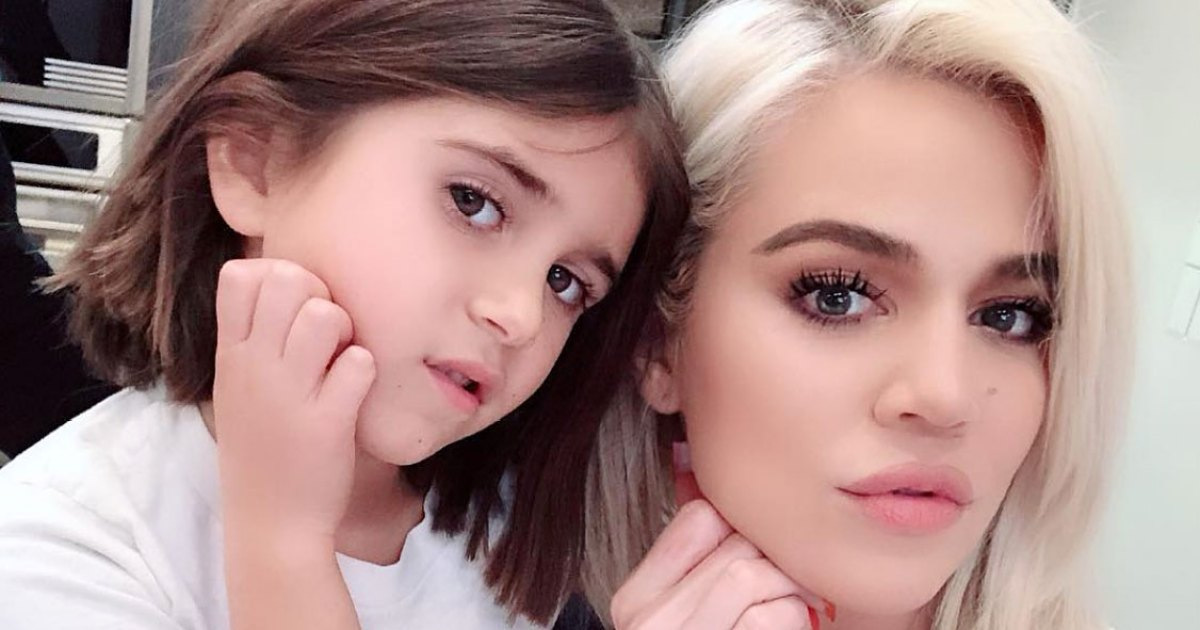 Get Well Soon! Penelope Disick Brings Fruit to 'Sick' Khloe Kardashian