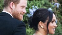 Prince Harry and Meghan Markle at Misha Nonoo's Rome Wedding on September 20, 2019