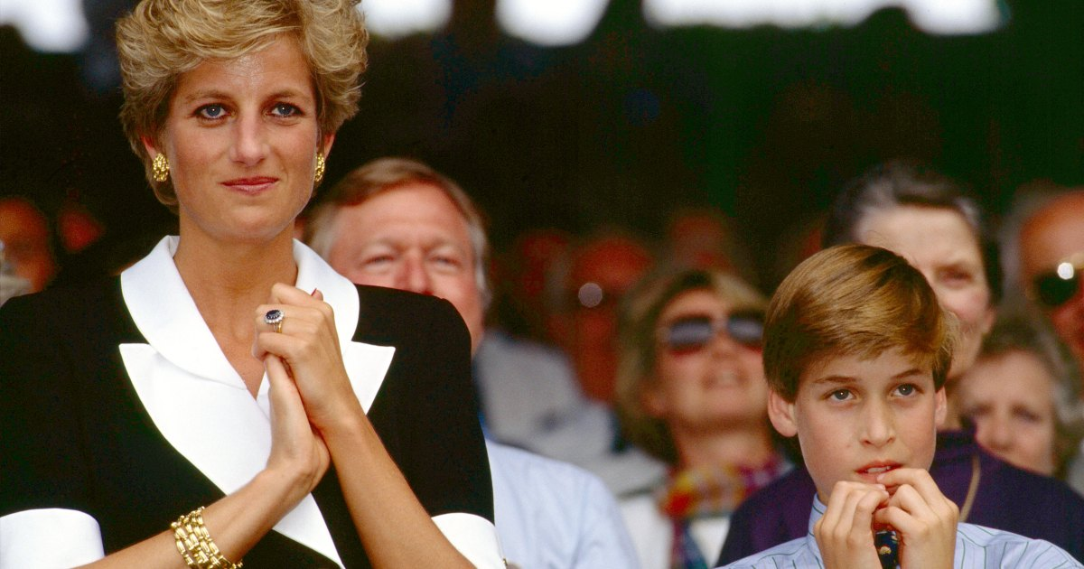 Prince William Called Princess Diana Upset Over Her Topless Photo Scandal